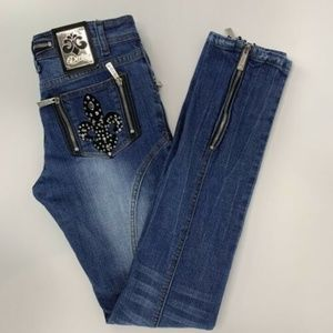 Dereon Womens Jeans Skinny Size 3/4